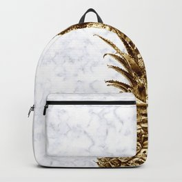 Gold pineapple Backpack