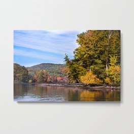 Fall River Vistas - New England Metal Print