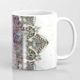 Zen Watercolor Mandala Full Coffee Mug