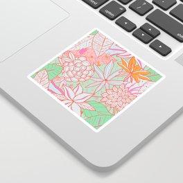 Amanda Flower Sticker