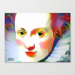 Historic Beauty Canvas Print