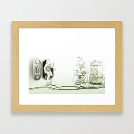 The Passenger: The Meet with Lars Framed Art Print