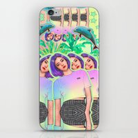 aloha iPhone & iPod Skins featuring Aloha by Sara Eshak