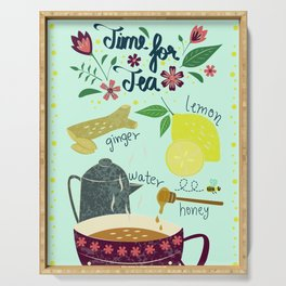 Tea Time Serving Tray