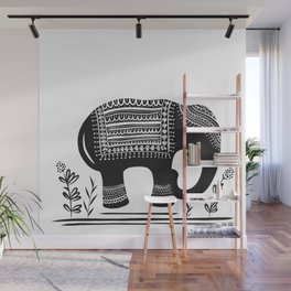 Lucky Elephant Wall Mural