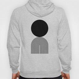 Abstraction_BLACK_DOT_LINE_ART_Minimalism_003C Hoody