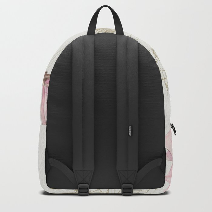 Macro Flowers #23 Backpack