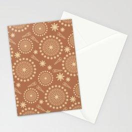art deco magic  mandala Stationery Cards