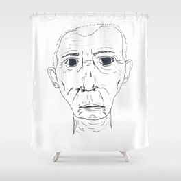 Robert Durst Shower Curtain