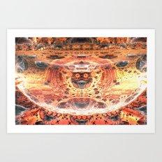 Red Palace Art Print
