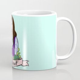 Janet is Not a Robot Coffee Mug