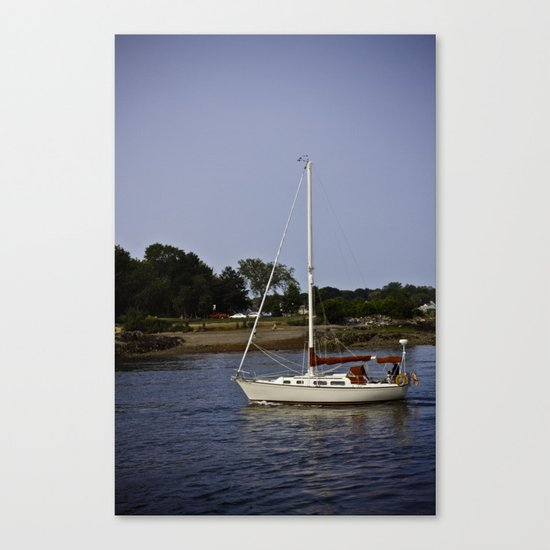Sail Boat Canvas Print