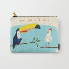 You're different. I like it. Carry-All Pouch