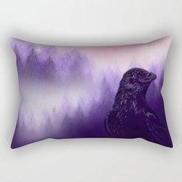 Mythical crow Rectangular Pillow