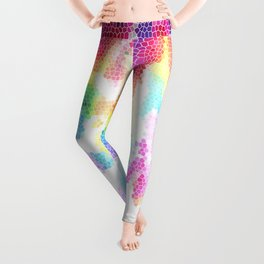 Everything I do is stitched with its color Leggings