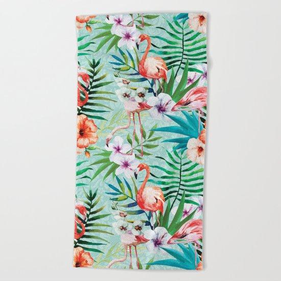 Tropical Summer #8 Beach Towel