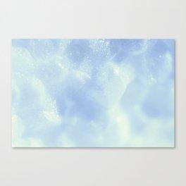 White Foam Plastic Texture Canvas Print