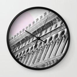 Venetian facade Wall Clock