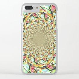 Infinite Imagination Clear iPhone Case