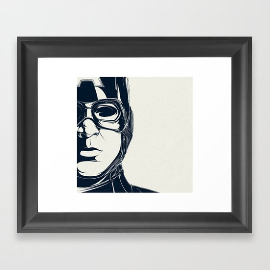 C.A. Framed Art Print