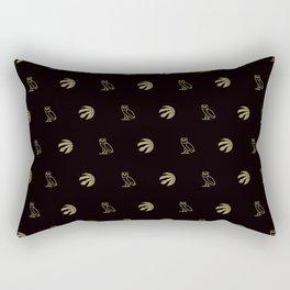 Raptors - Black Rectangular Pillow