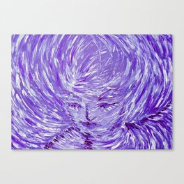 Blue Eolo Canvas Print