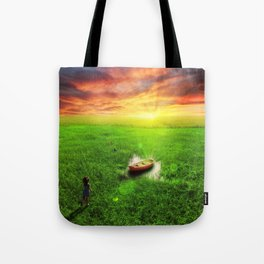 My Own Perfect World  Tote Bag