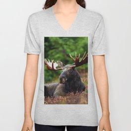 Relax Moose Unisex V-Neck