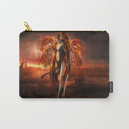 With fire Carry-All Pouch