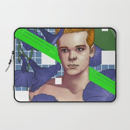 Flowers and Abstract with Cameron Monaghan Laptop Sleeve