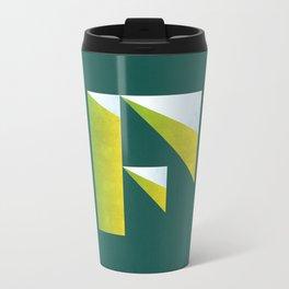 """F"" Drop Cap Travel Mug"