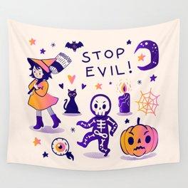 Cute Halloween Potpourri Wall Tapestry
