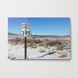 395 N Metal Print