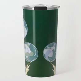 "1920's Art Deco Design ""Bubbles"" Travel Mug"