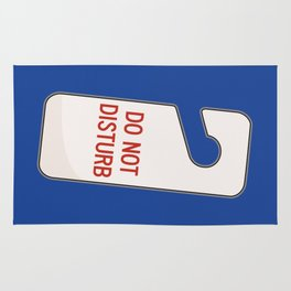 Do NOT Disturb Rug