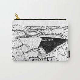 Human Landscape/Paysage Humain Carry-All Pouch
