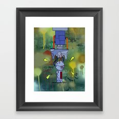Over Charge Framed Art Print