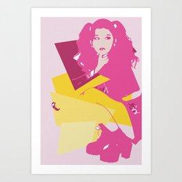 Sana Art Print