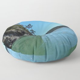Canoe Pass Floor Pillow