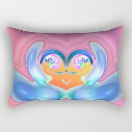 Tears of joy Rectangular Pillow