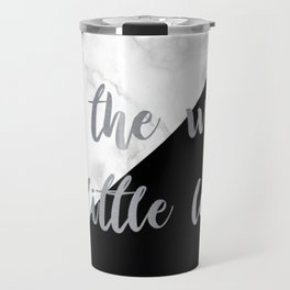 give the world a little love Travel Mug