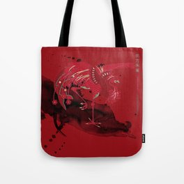 Vermilion Bird of the South Tote Bag