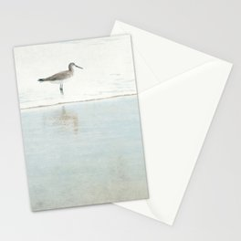Reflecting Sandpiper Stationery Cards