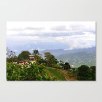 puerto rico Canvas Prints featuring Puerto Rico by The Ernie Chronicles