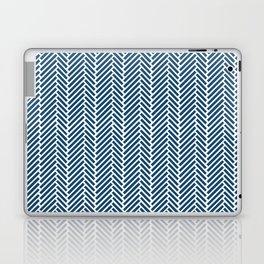 Herringbone Navy Inverse Laptop & iPad Skin