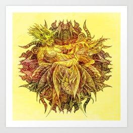 Botanical lust -3  Art Print