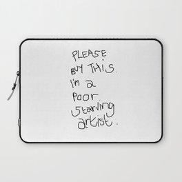 Starving Artist Laptop Sleeve