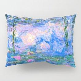 Water Lilies Claude Monet Restored Pillow Sham