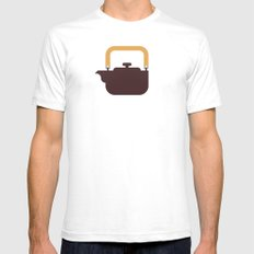 Japan Teapot White SMALL Mens Fitted Tee