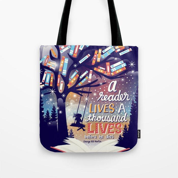 Thousand lives Tote Bag